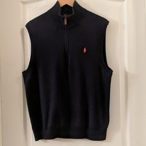 💯 Cotton Ralph Lauren Sweater Vest